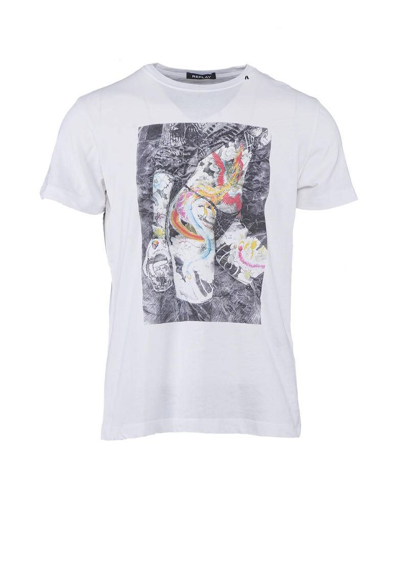 REPLAY T-shirt casual con stampa