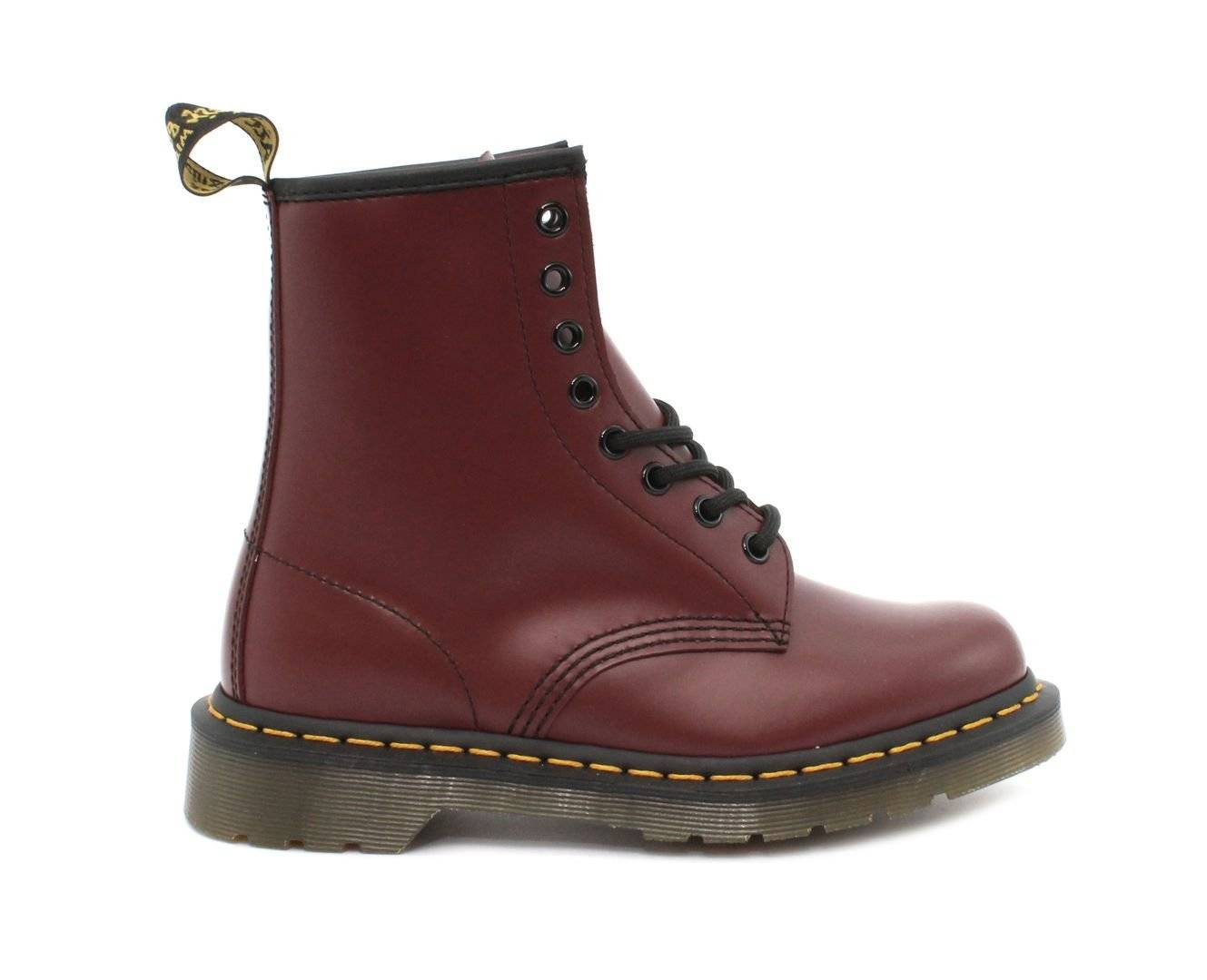 Dr Martens Anfibio DR MARTENS 1460 Cherry Red Smooth 10072600
