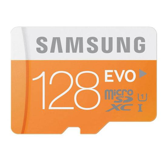 varie micro sd samsung 128 gb