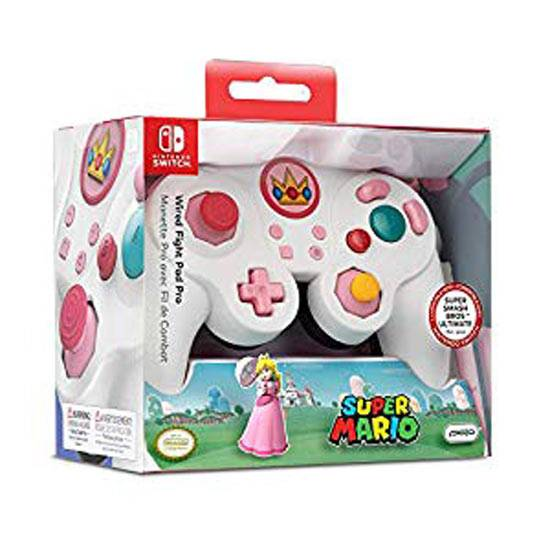 switch gamepad peach nintendo