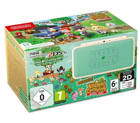 Nintendo New Nintendo 2DS XL - Animal Crossing Edition