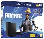 Sony Interactive Entertainment PS4 Pro 1 TB + Voucher Fortnite