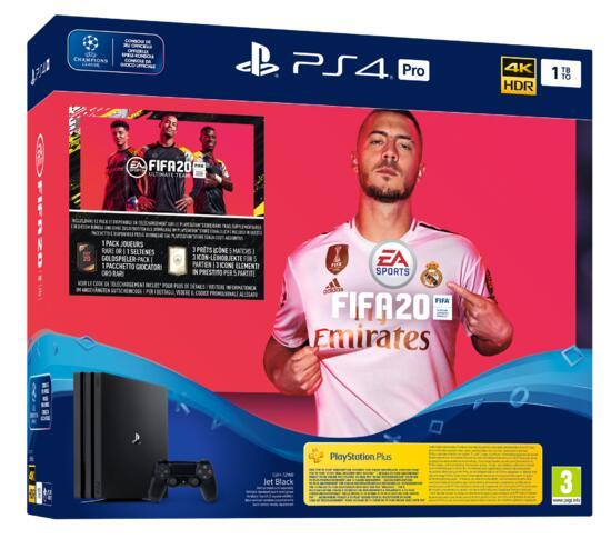 Sony PS4 Pro 1TB + FIFA 20