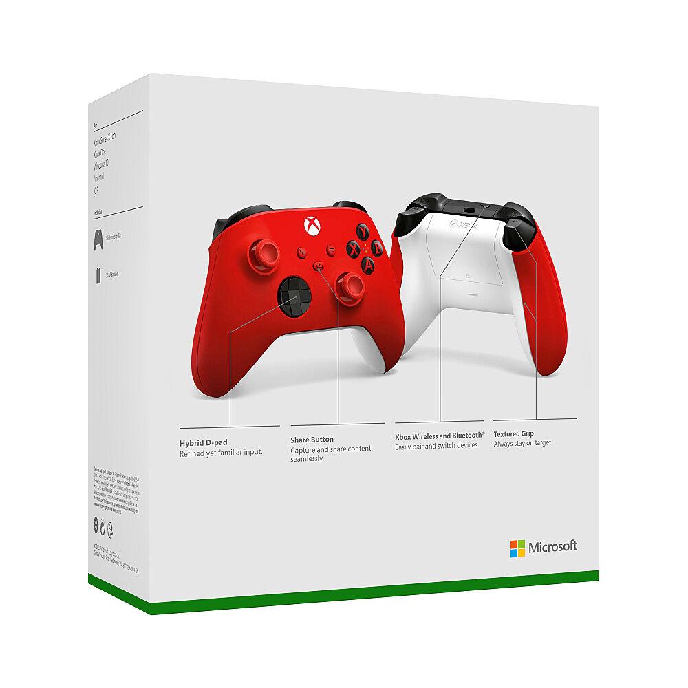 Microsoft Controller Wireless Xbox Pulse Red