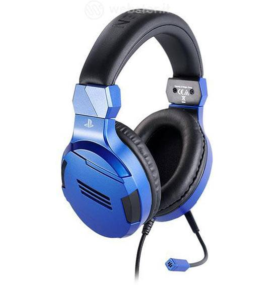 ps4 headset sony v3 blauw blu