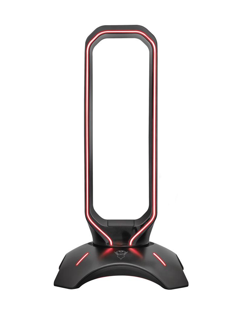 accessori trust gxt 265 cintar rgb headset stand