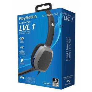 Pdp Cuffie PS4 Headset Afterglow LVL 1