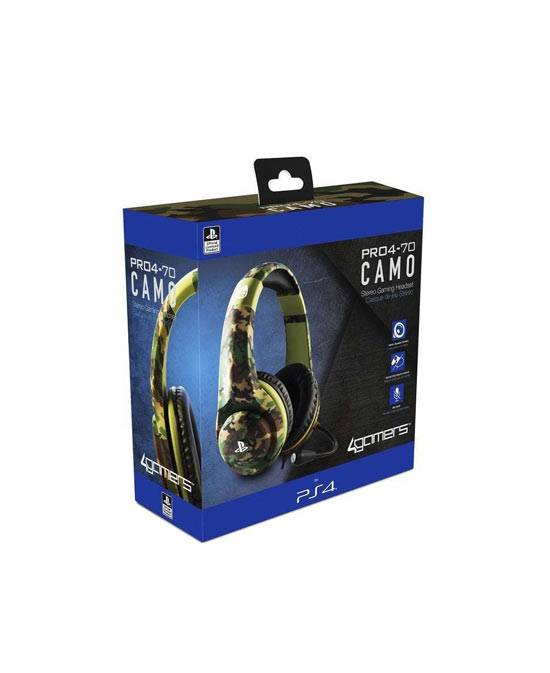 PS4 Headset 4Gamers PRO4-70 Camo