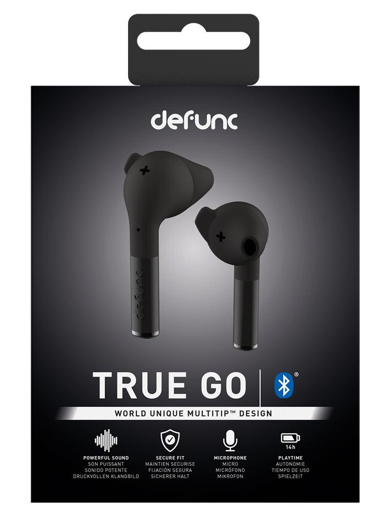 Accessori Auricolari Bluetooth Defunc True GO (Nero)