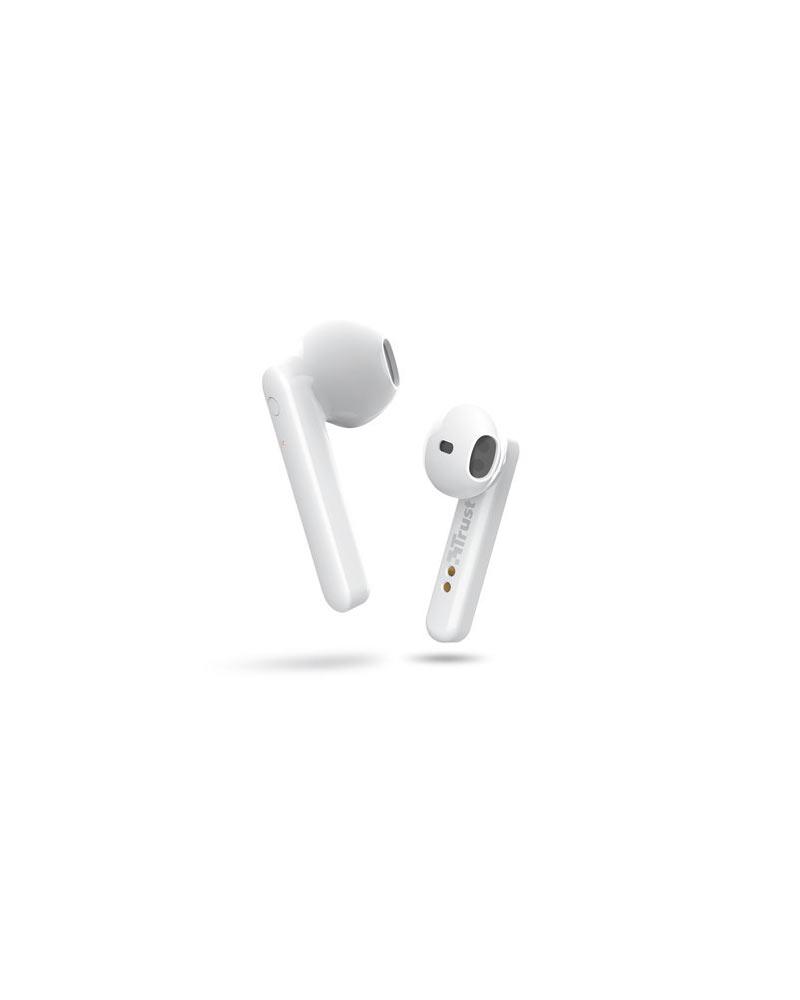 Accessori Cuffie Bluetooth Trust Primo Touch White