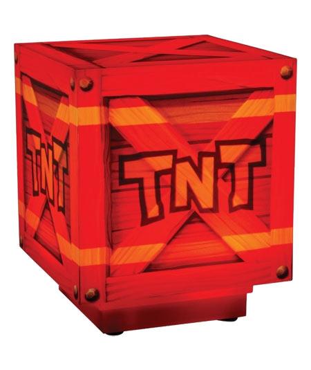 Gadget Lampada Crash Bandicoot TNT
