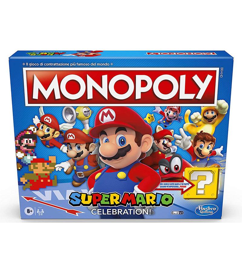 gadget monopoly super mario celebration gioco da tavolo
