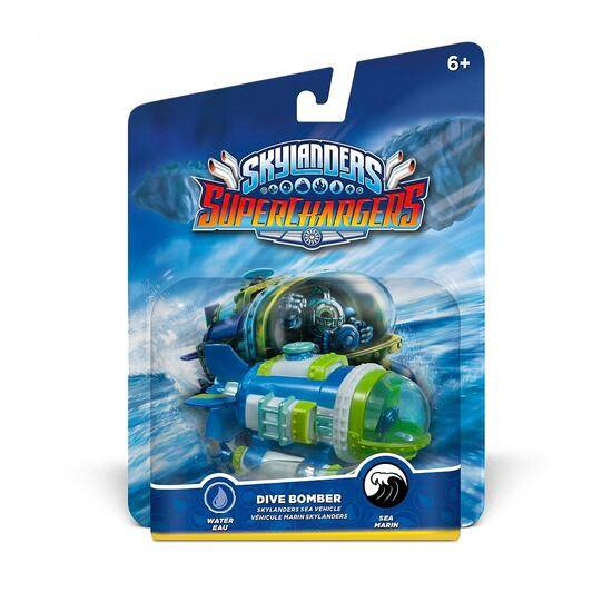 Activision Skylanders SuperChargers Dive Bomber