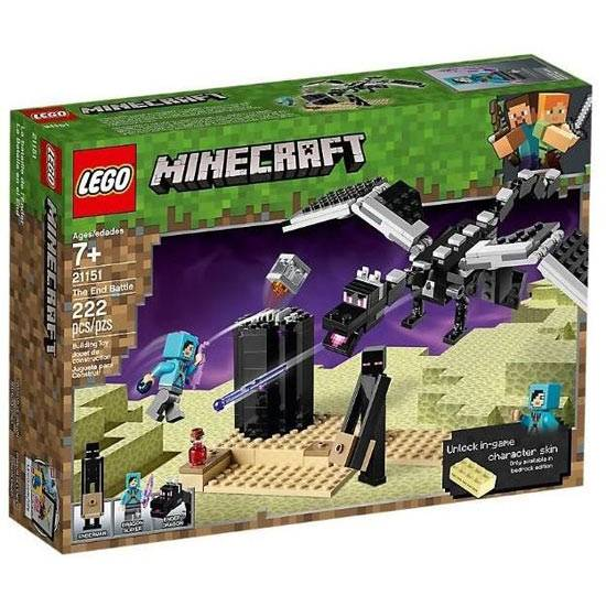 lego minecraft - battaglia dell'end