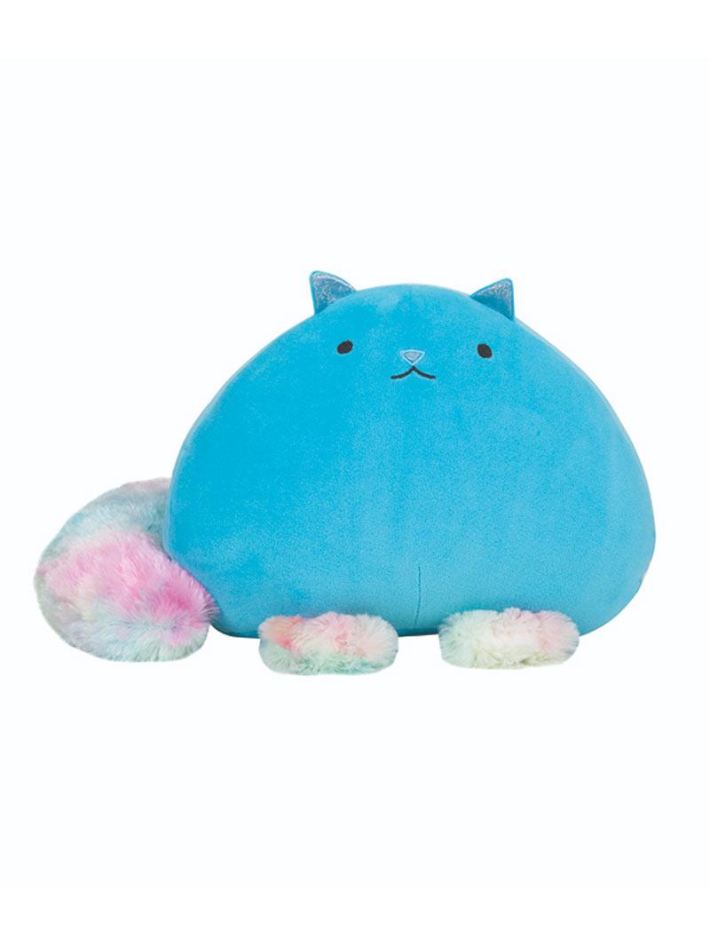 Gadget Peluche JoyToy Fluffy Cat Azzurro (Gatto Supermorbidone) 30 cm