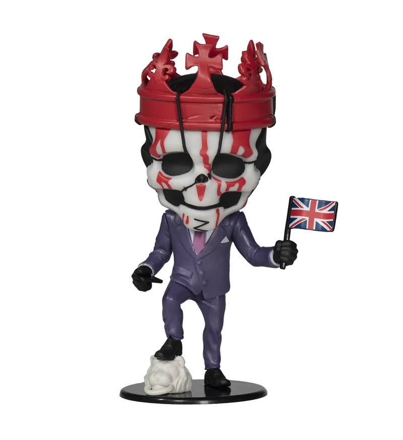 Ubisoft Figure Heroes Collection Watch Dogs Legion King Of Hearts (Serie 2)