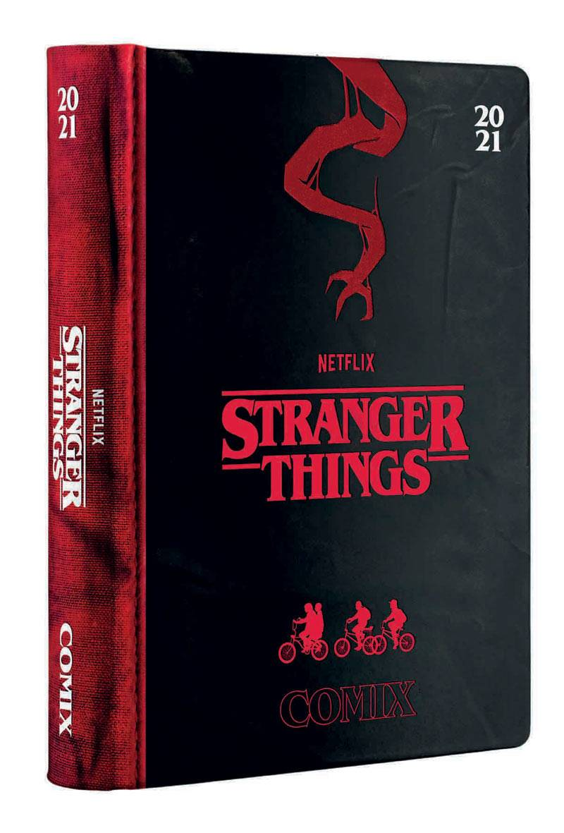 gadget diario comix stranger things 2020-2021 (16 mesi)