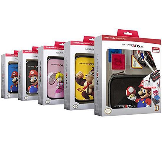BigBen Interactive Custodia Nintendo 3DS XL Super Mario Modelli Assortiti