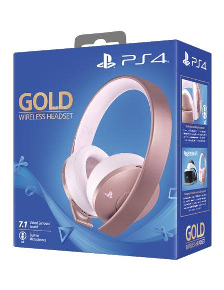 Sony Headset Gold Wireless Rose Gold