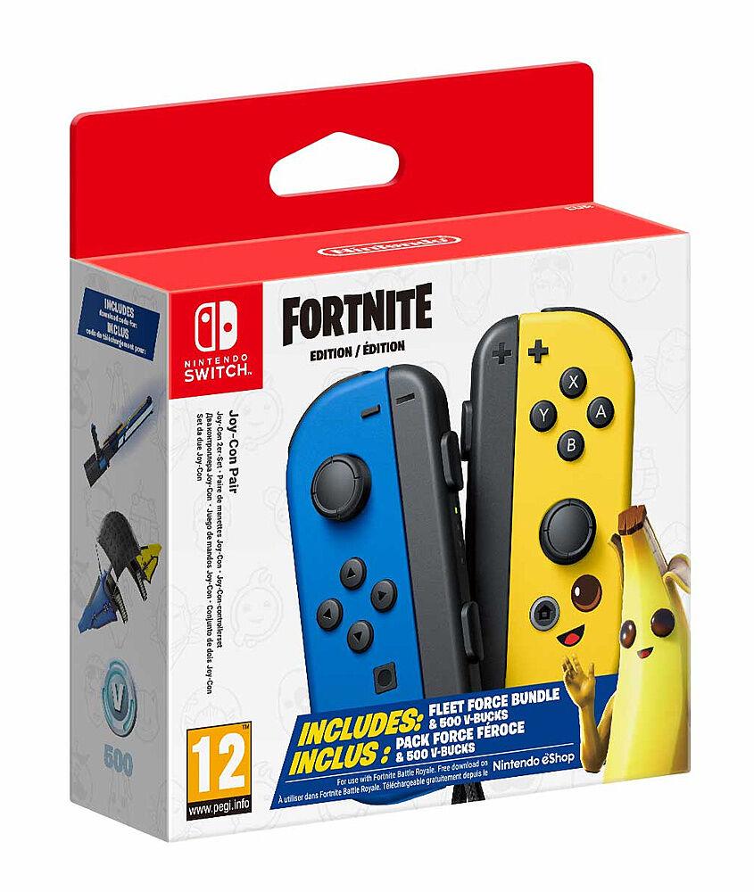 Nintendo Coppia Joy-Con Switch Fortnite