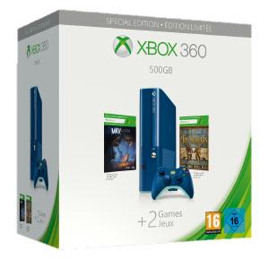 microsoft xbox 360 500gb blu