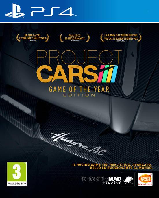 bandai namco entertainment project cars game of the year edition
