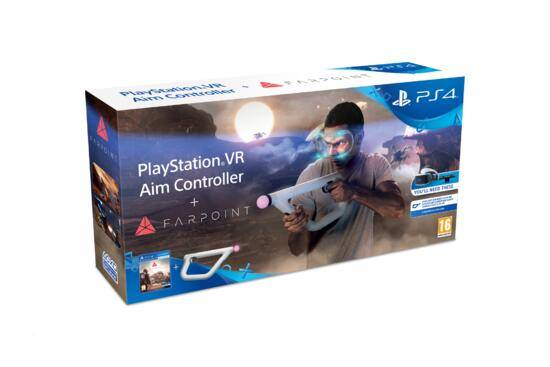 sony farpoint + playstation vr aim controller