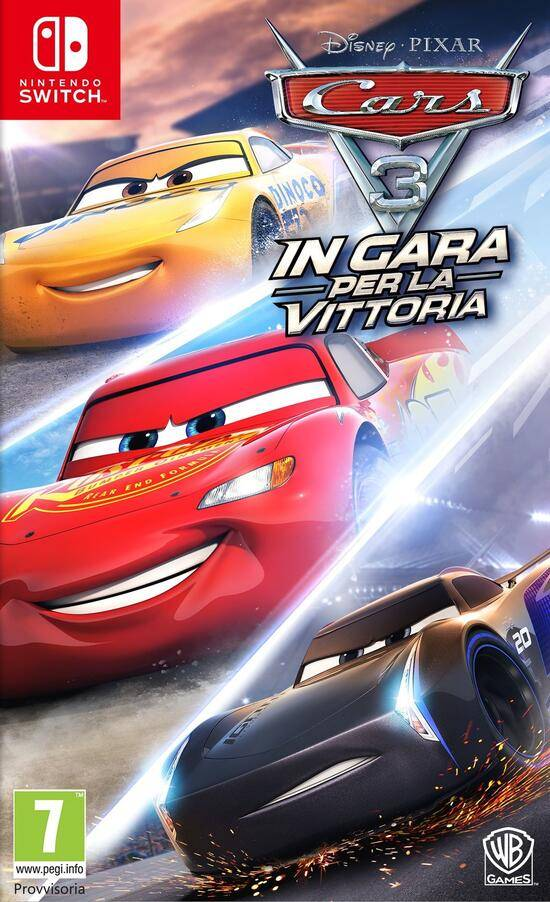 warner bros. interactive cars 3: in gara per la vittoria