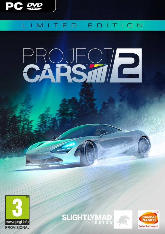 bandai namco entertainment project cars 2 limited edition