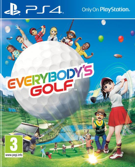 sony everybody's golf