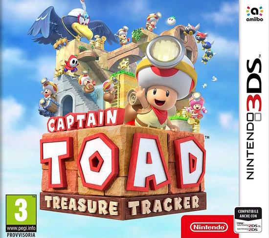 nintendo captain toad: treasure tracker