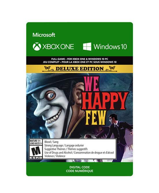microsoft we happy few: deluxe edition