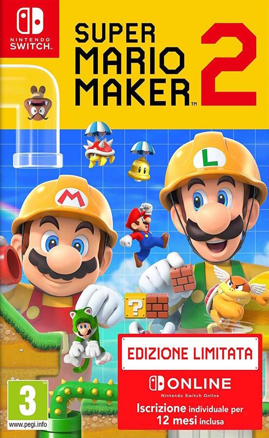 nintendo super mario maker 2 edizione limitata