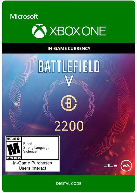 electronic arts battlefield v 2200 crediti