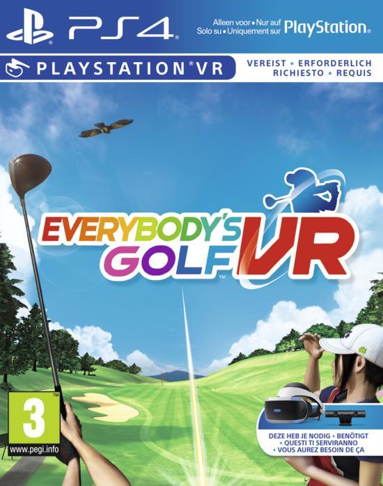 sony everybody's golf vr