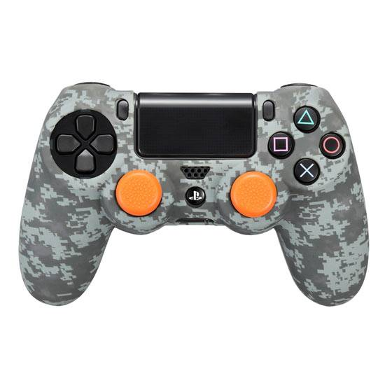 ps4 grips & cover dualshock silicone camo