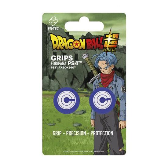 ps4 grips dualshock dragon ball z capsule corp