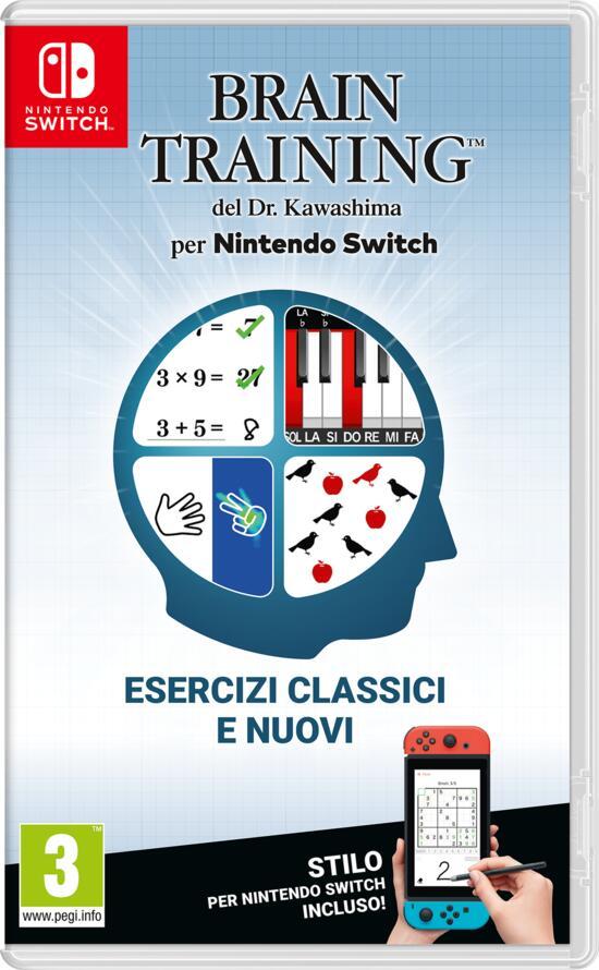 nintendo brain training del dr. kawashima per switch