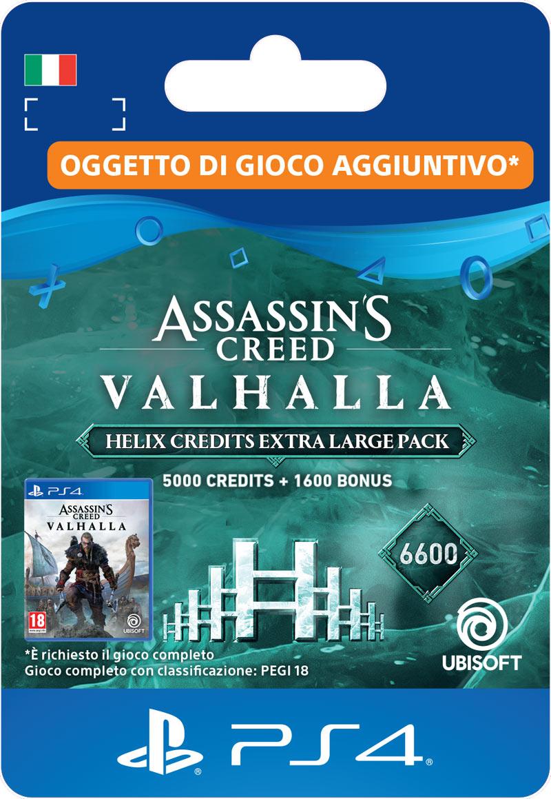 ubisoft assassin's creed valhalla helix credits extra large pack (6,600)