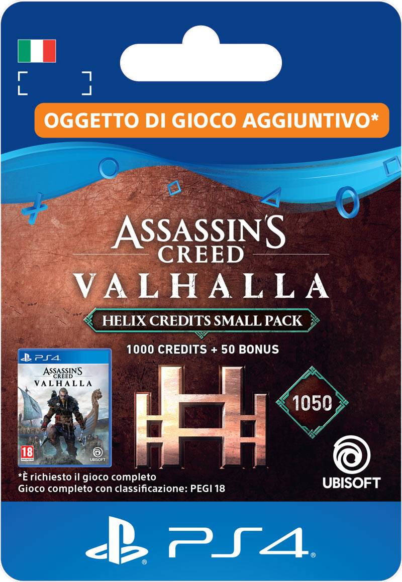 ubisoft assassin's creed valhalla helix credits small pack (1,050)