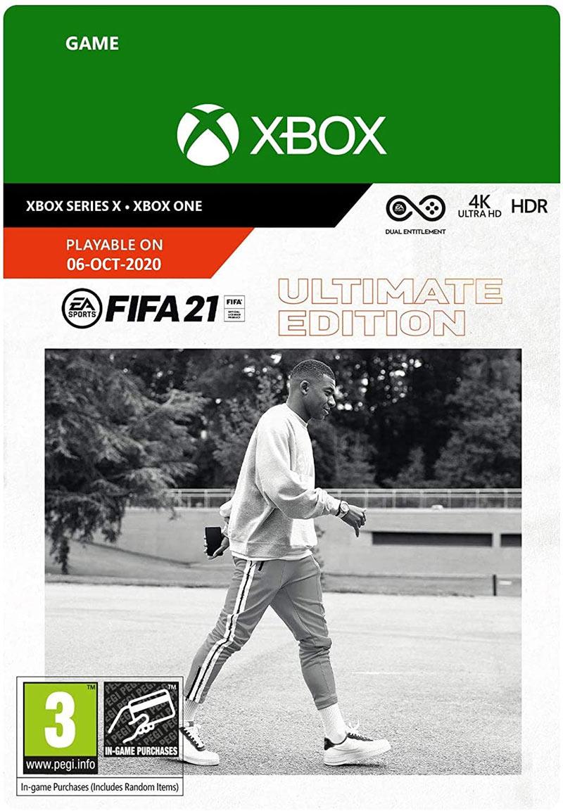 ea sports fifa 21 ultimate edition