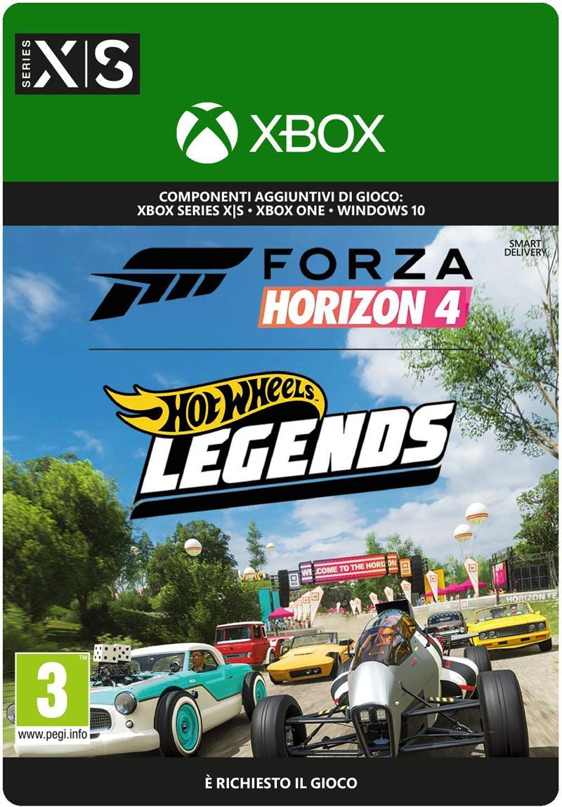 xbox game studios forza horizon 4 pacchetto auto hot wheels™ legends