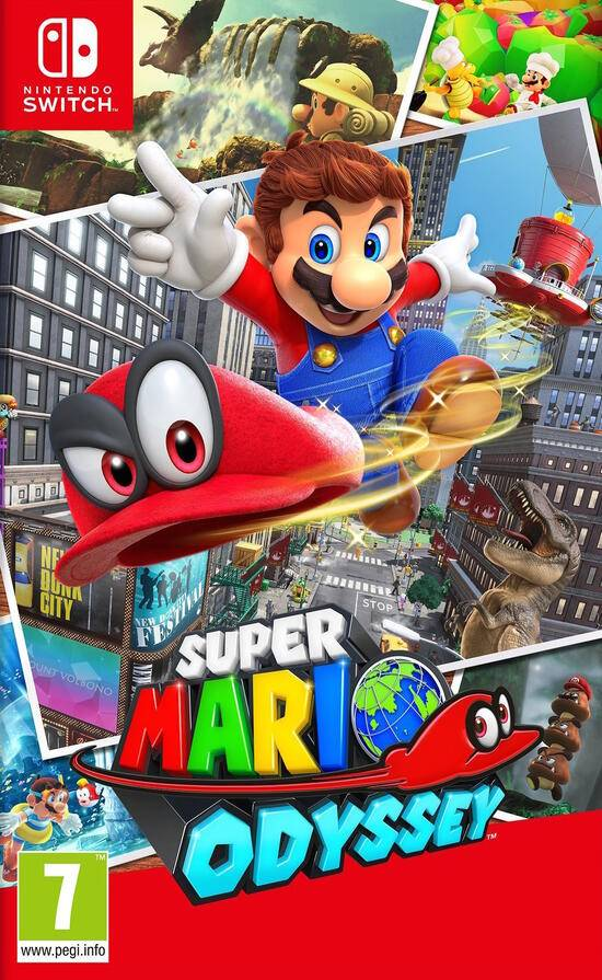 Nintendo Super Mario Odyssey