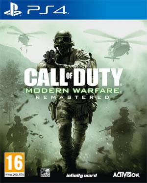 Activision Call of Duty: Modern Warfare Remastered