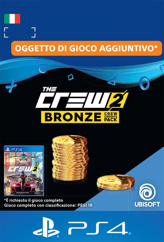 Ubisoft The Crew 2 Pacchetto Crediti Bronzo
