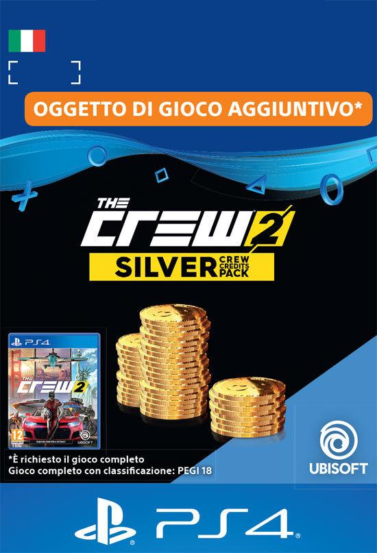 Ubisoft The Crew 2 Pacchetto Crediti Argento