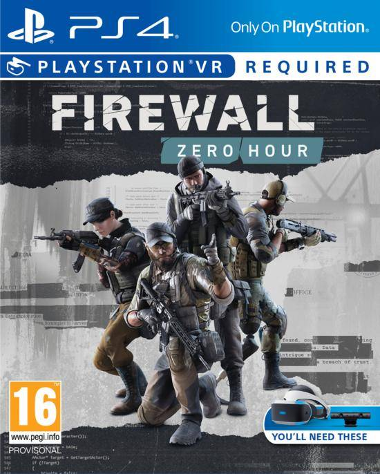 Sony Firewall: Zero Hour
