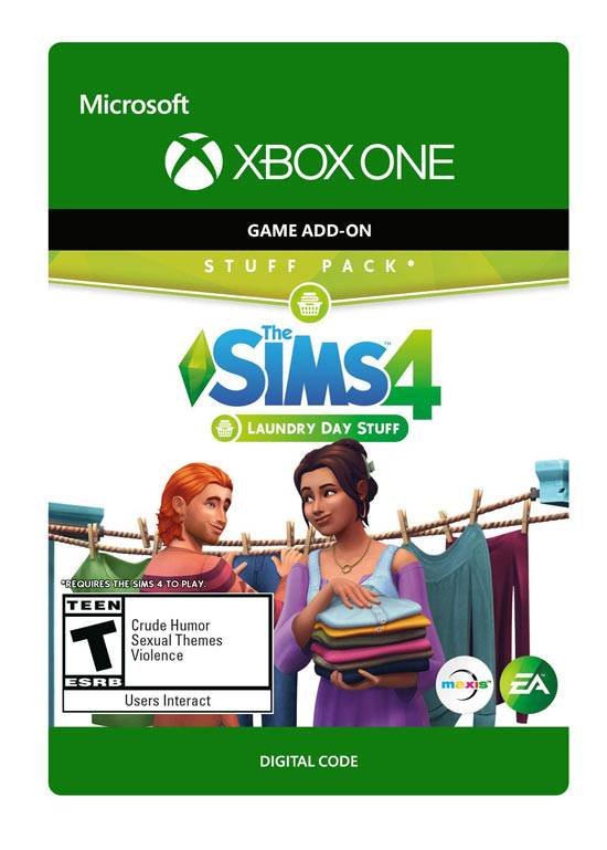 XboxONE The Sims 4 Laundry Day Stuff Pack