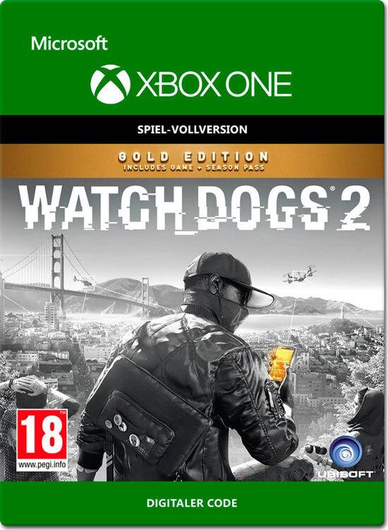 Microsoft Watch Dogs 2 Gold Edition