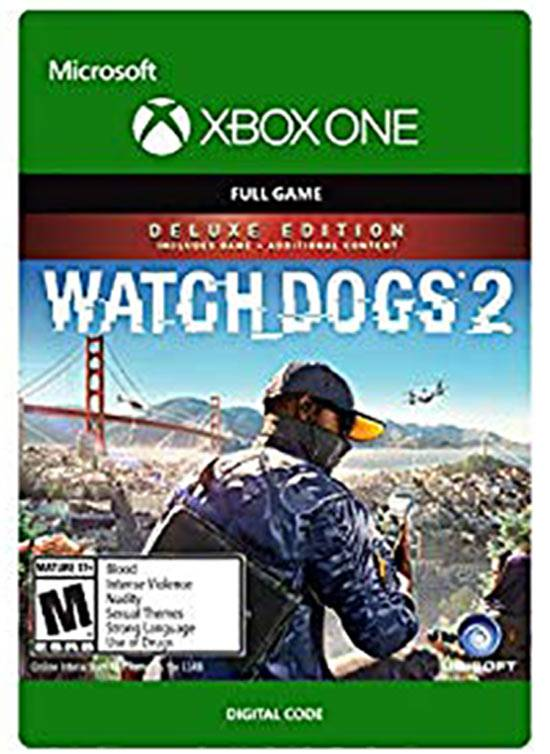 Microsoft Watch Dogs 2 Deluxe Edition